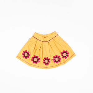 Alba Nelly Skirt - Bright Gold