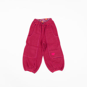 Alba Hobo Baggy Pants - Raspberry Magic Strip