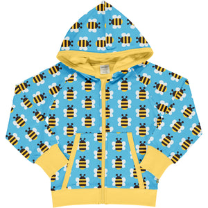 Maxomorra Hooded Cardigan - Humble Bumblebee