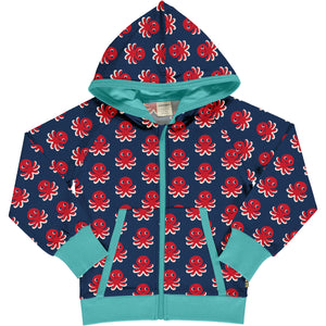 Maxomorra - Cardigan Hood Sweat - Octopus