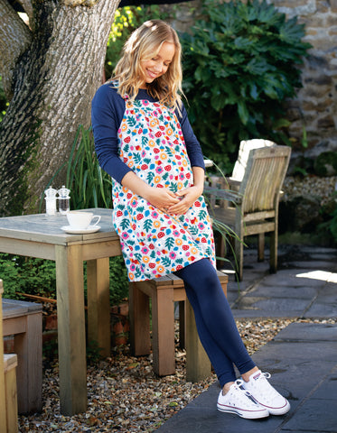 Frugi Berry Cord Pinafore -Tin Roof Lost Words