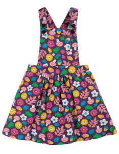 Frugi Pixie Pinafore - Aubergine Lost Words