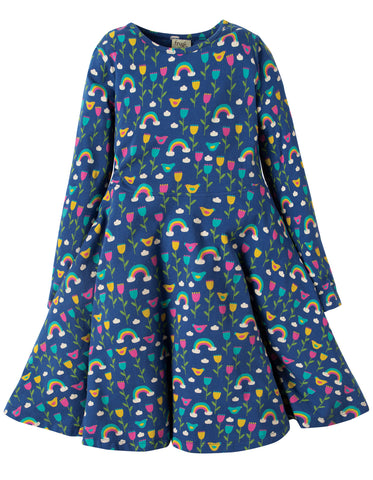 Image of Frugi Sofia Skater Dress - Perfect Day - Organic Cotton