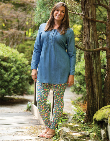Frugi Roisin Denim Tunic - Denim (maternity wear)