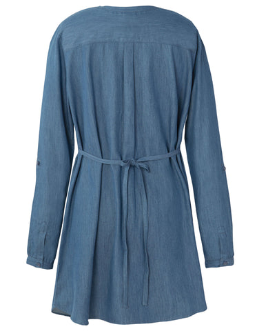 Image of Frugi Roisin Denim Tunic - Denim