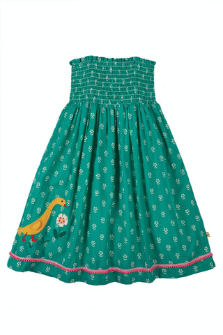 Frugi Cora Skirt Dress -  Jasmine/Ducks