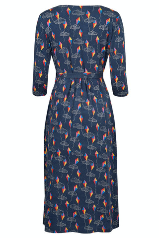 Frugi Rico Maternity and Nursing Dress - Patang Festival