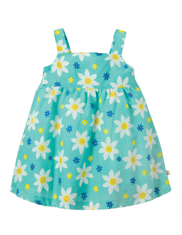 Frugi Jess Party Dress - Daffodil Days - Tilly & Jasper