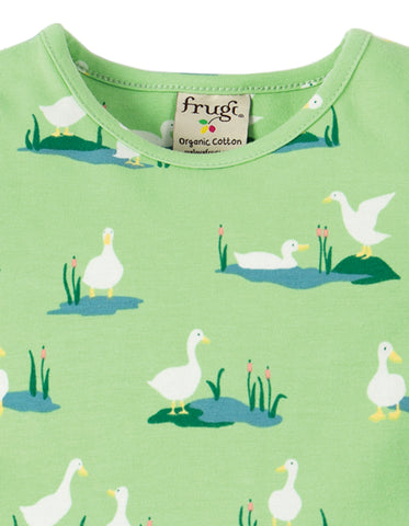 Frugi Little Spring Skater Dress - Duck Ponds
