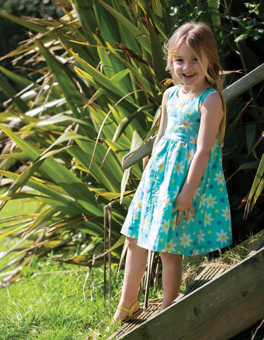 Frugi Porthcurno Party Dress - Daffodil Days