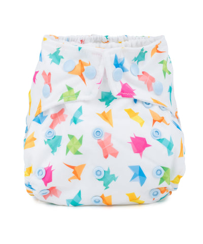 Baba & Boo One Size Nappy - Origami - Tilly & Jasper