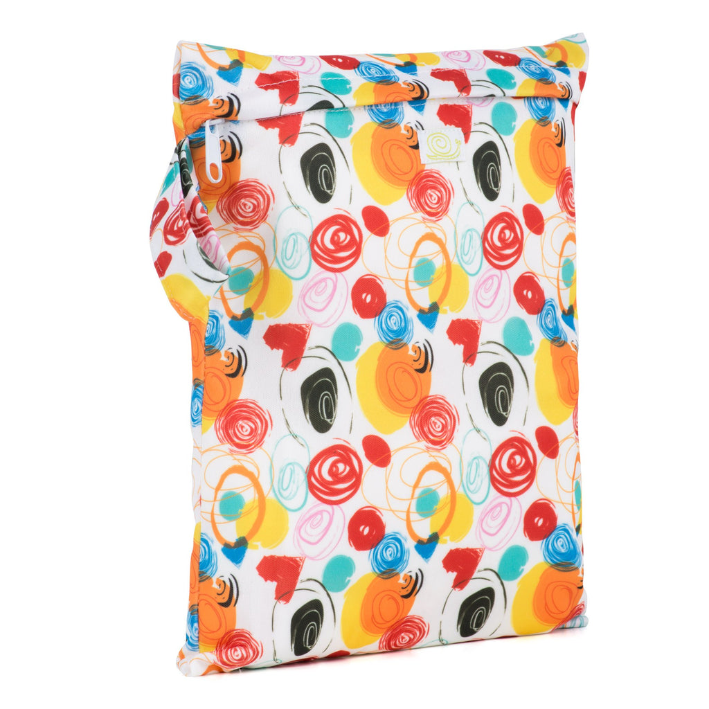 Baba & Boo Doodles Reusable Nappy Storage Bag (Small) - Tilly & Jasper