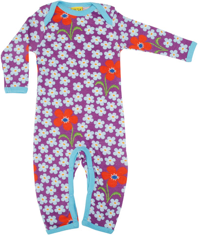 DUNS Babygrow - Flower Orchid