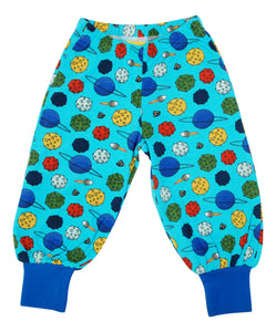 DUNS Baggy Pants - Blue Atoll