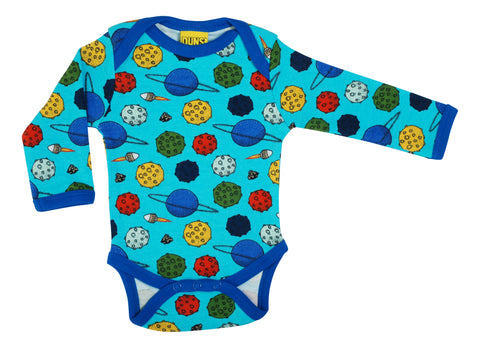 DUNS Long Sleeve Lapneck Body - Blue Atoll