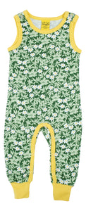 DUNS Dungarees -  Wood Anemone - Green