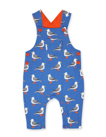 Toby Tiger Seagull Dungarees