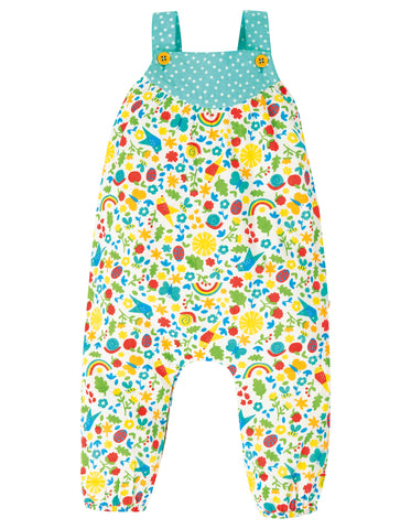 Image of Frugi Springtime Dungaree - Allotment Days