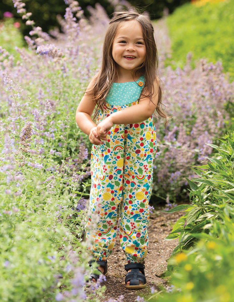 Frugi Springtime Dungaree - Allotment Days
