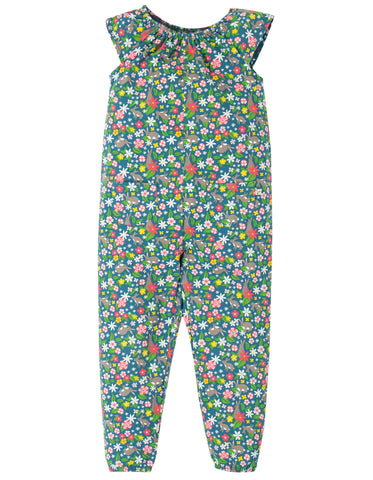 Image of Frugi Maya Dungaree - Rabbit Fields