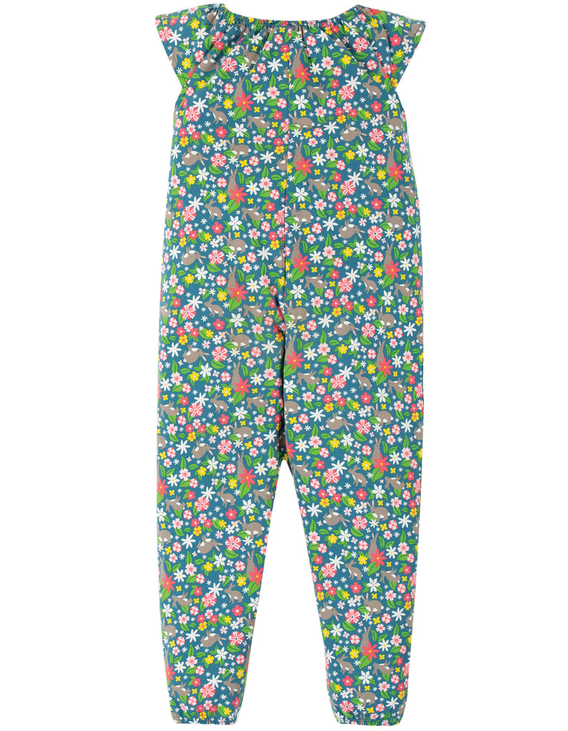 Frugi Maya Dungaree - Rabbit Fields