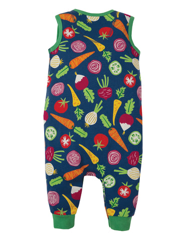 Frugi Kneepatch Dungaree - Homegrown