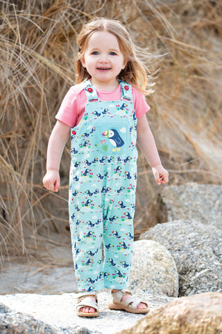 Frugi Lovely Day Dungaree - St Agnes Puffin Parade
