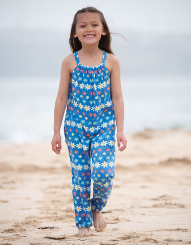 Frugi Jay Jumpsuit - Flower Farm - Tilly & Jasper