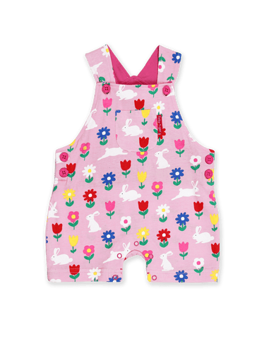 Image of Toby Tiger Bunny Dungaree Shorts