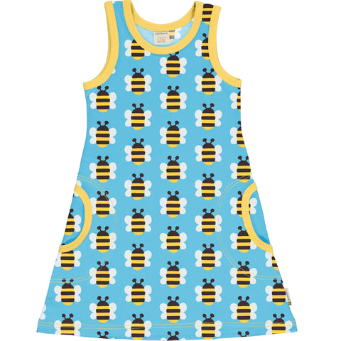 Maxomorra Sleeveless Dress - Humble Bumblebee