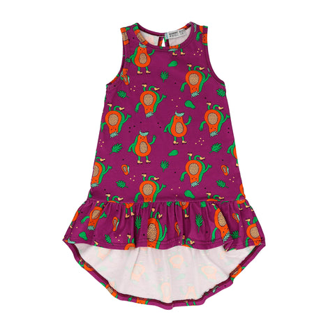 Raspberry Republic Dress - Papaya Power