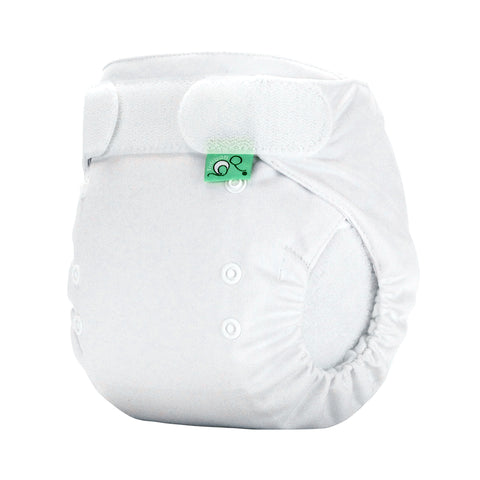 TotsBots Easy Fit Star Nappy - White