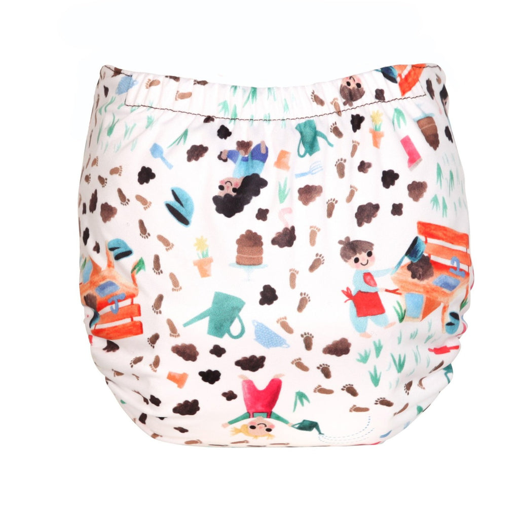 TotsBots Easy Fit Star Nappy - Mucky Pups