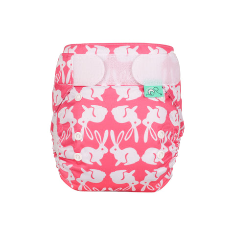 TotsBots Easy Fit Star Nappy - Bummy Wabbit