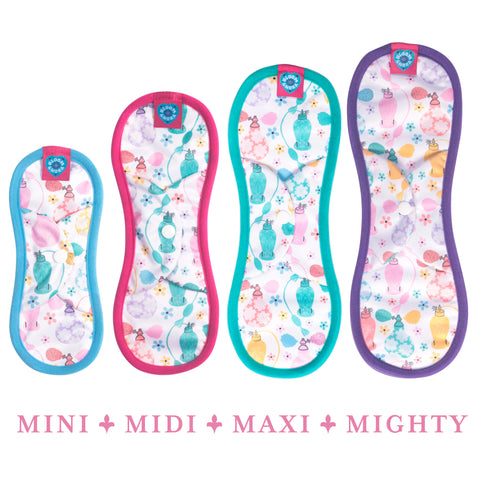Bloom Single Reusable Sanitary Pad - Eau Mighty