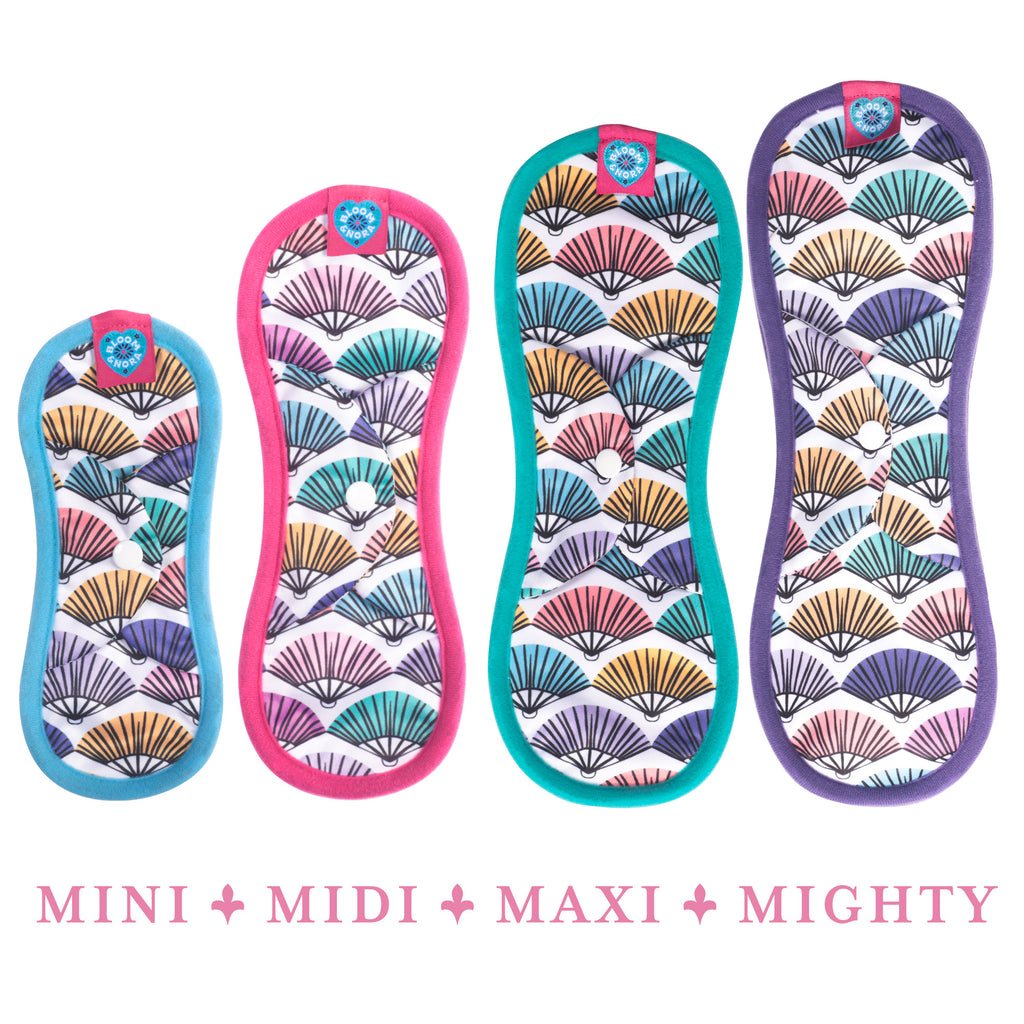 Bloom Single Reusable Sanitary Pad - Flirt Mighty