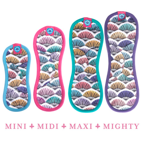 Image of Bloom Single Reusable Sanitary Pad - Flirt Mighty