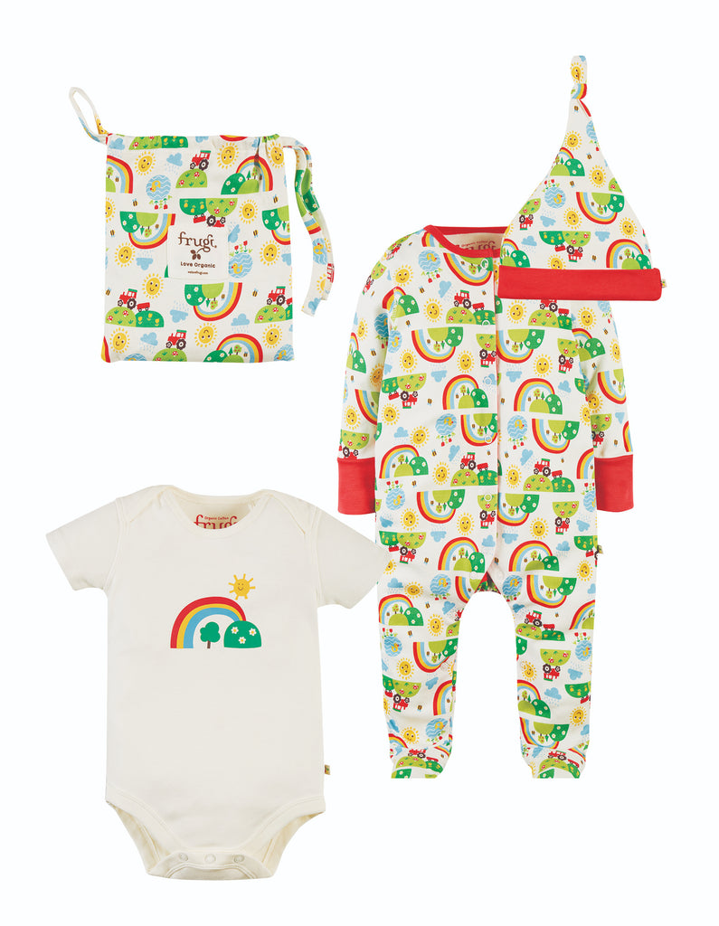 Frugi Baby Gift Set - Happy Days