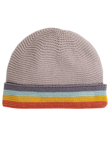 Frugi Harlow Knitted Hat - Soft Rainbow