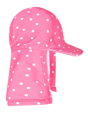 Frugi Little Swim Legionnaires Hat - Flamingo Spot