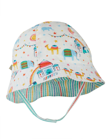 Image of Frugi Reversible Hazy Hat -  At The Taj