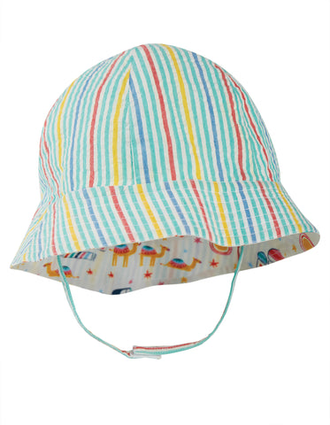 Frugi Reversible Hazy Hat -  At The Taj