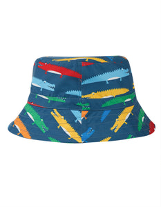 Frugi Harbour Swim Hat - Rainbow Crocs