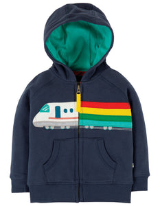 Frugi Hayle Hoody - Indigo/Train