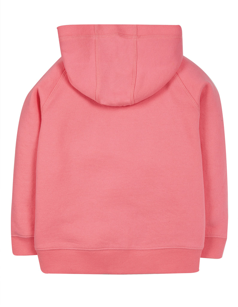 Frugi Dorothy Hoody - Mid Pink/Parrot