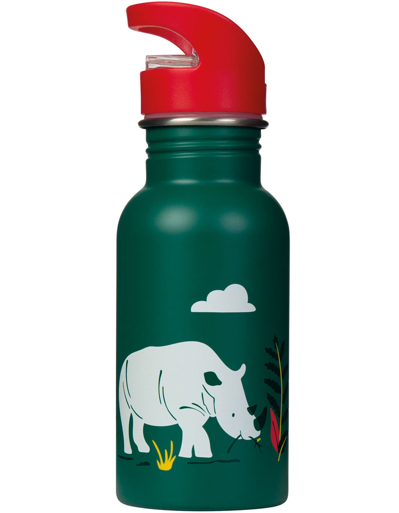 Frugi Splish Splash Steel Bottle - Rhino Ramble - Tilly & Jasper