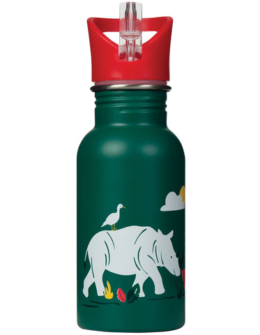 Frugi Splish Splash Steel Bottle - Rhino Ramble