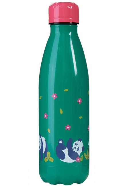 Frugi Buddy Bottle - Panda Floral