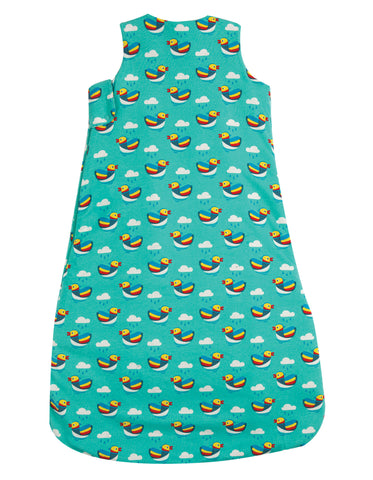 Frugi Snuggler Sleeping Bag - Mandarin Ducks