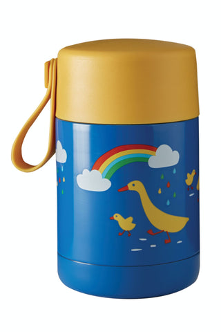 Frugi Yummy Insulated Food Flask - Runner Ducks
